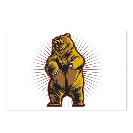 Angry Bear Postcards (Package of 8)