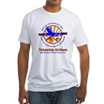 TakaWhip Airlines Fitted T-Shirt