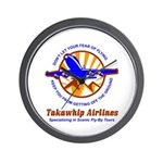 TakaWhip Airlines Wall Clock