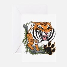 Tigers Greeting Cards (Pk of 10)