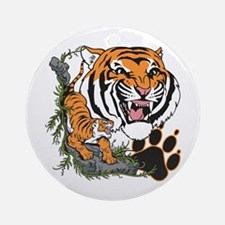 Tigers Ornament (Round)