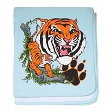 Tigers baby blanket