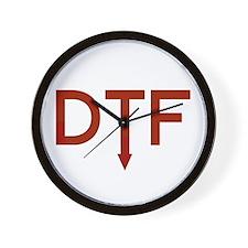 DTF Wall Clock