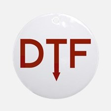 DTF Ornament (Round)