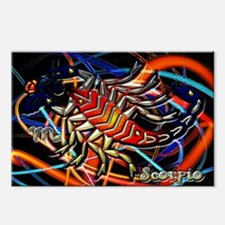 Scorpio Zodiac Sign Postcards (Package of 8)