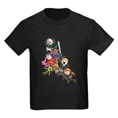 OOTS Attacks! Kids T-Shirt (black)