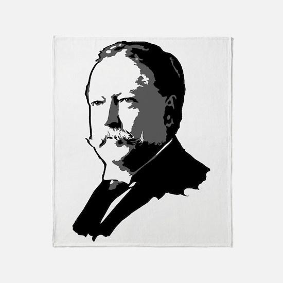 William Howard Taft Throw Blanket