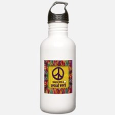 Peace, Love, & SW Water Bottle