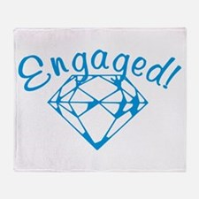 Engaged Throw Blanket