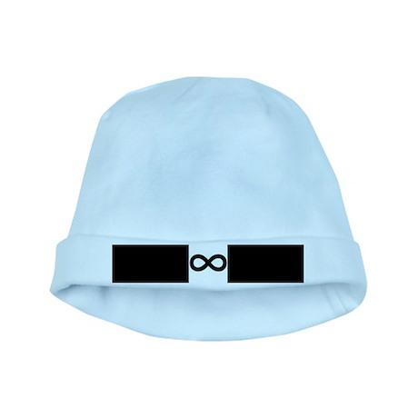 Infinity baby hat