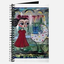 Unique Baby carriage Journal