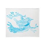 Bird Graphic Throw Blanket