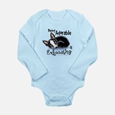 Boston Being Adorable Long Sleeve Infant Bodysuit