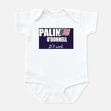 Cute Christine odonnell Infant Bodysuit