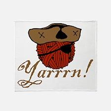 Yarrrn Throw Blanket