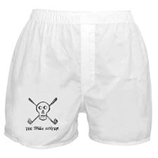 The Jolly Golfer with text Boxer Shorts