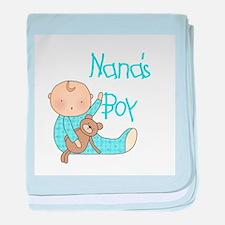 Nana's Boy baby blanket