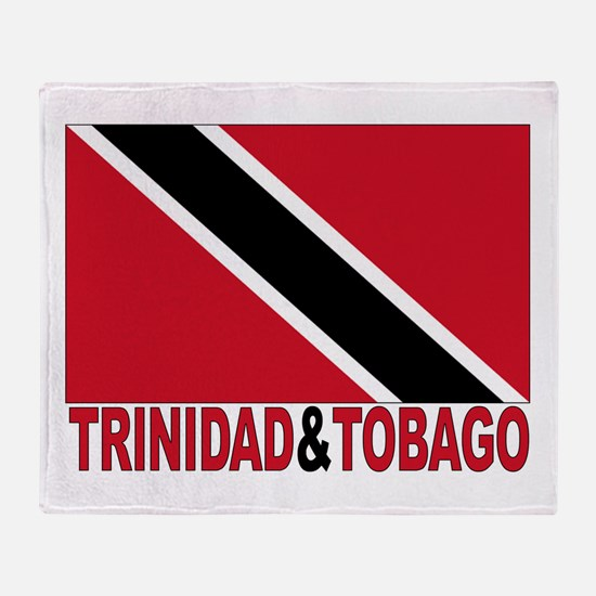 Trinidad and Tobago Flag Throw Blanket