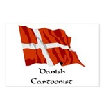 Danish Cartoonist Postcards (Package of 8)