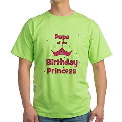 Papa of the 1st Birthday Prin T-Shirt