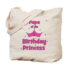 Papa of the 1st Birthday Prin Tote Bag