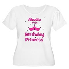Abuela of the 1st Birthday Pr T-Shirt