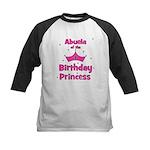 Abuela of the 1st Birthday Pr Kids Baseball Jersey
