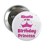 "Abuela of the 1st Birthday Pr 2.25"" Button"
