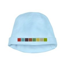 Random Color Blocks baby hat