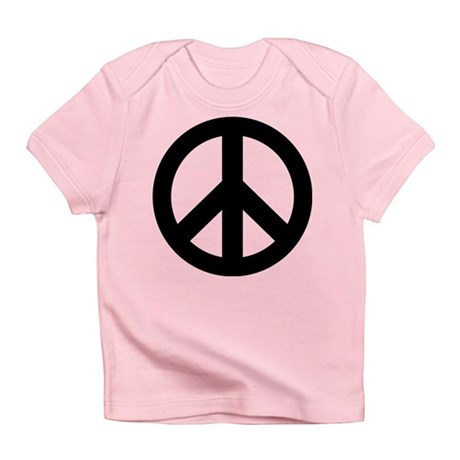 Peace Symbol Infant T-Shirt