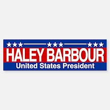 Barbour for President Bumper Bumper Sticker