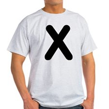 The Alphabet Letter X T-Shirt