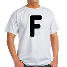The Alphabet Letter F T-Shirt