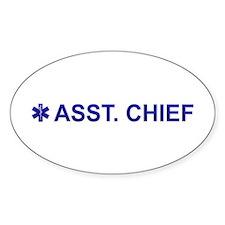 EMS Asst. Chief Decal