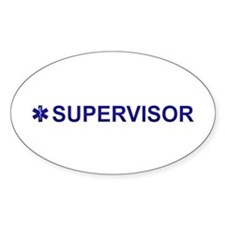 EMS Supervisor Decal