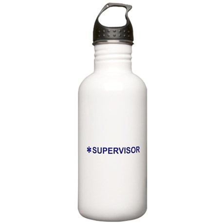 EMS Supervisor Stainless Water Bottle 1.0L