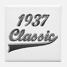Cute 1937 Tile Coaster