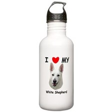 Unique White shepherd Water Bottle