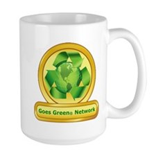 Goes Green Items Mug