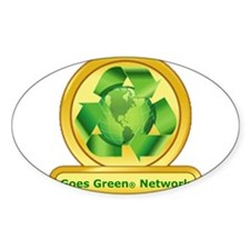 Goes Green Items Decal