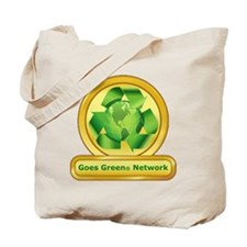Goes Green Items Tote Bag