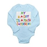 Baby math Long Sleeves Bodysuits