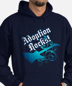 Adoption Rocks! - Hoodie (dark)