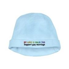 My Love Is Valid Too baby hat