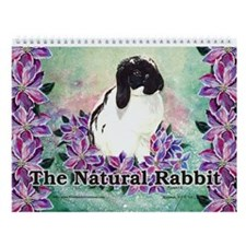 The Natural Rabbit Wall Calendar