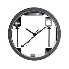 Rotate Wheels Wall Clock