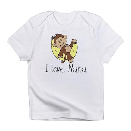 Monkey I Love Nana Infant T-Shirt