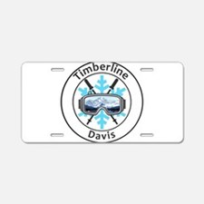 Timberline Four Seasons Res Aluminum License Plate