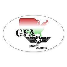 Grenade Free America Decal
