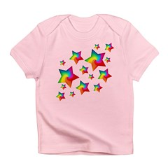 Rainbow Stars Infant T-Shirt